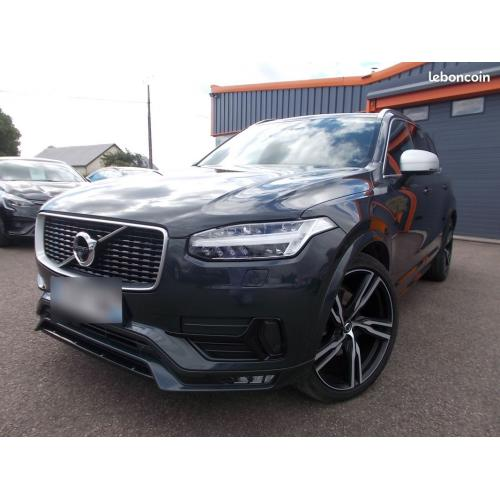 Volvo xc 90 ii d5 235 cv awd r-design geartronic 8 7places 1 ere main